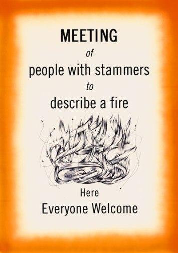 Meeting Here Everyone Welcome', 2000 By Adam Chodzko ©